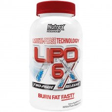 Для снижения веса Nutrex Lipo 6X BaSix series (60 капс)