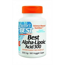 Альфа-липоевая кислота Doctor's Best Alpha Lipoic Acid (300 мг) (180 капс)