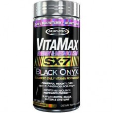 Витамины для женщин MuscleTech VitaMax SX-7 Black Onyx for Women (Energy & Metabolism) (120 таб)