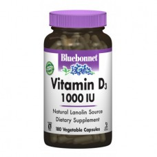 Витамины Bluebonnet Nutrition Vitamin D3 1000 IU (180 желевых капсул)