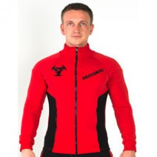 Толстовка Athlete Genetics Strong Style (Black-Red)