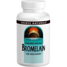 Бромелайн Source Naturals Bromelain 500 мг (60 таблеток)