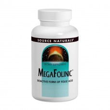 Биоактивная форма фолиевой кислоты В9 Source Naturals MegaFolinic 800 мкг (120 таблеток)