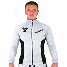 Толстовка Athlete Genetics Gym Style (Grey-Black)