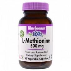 Аминокислоты Bluebonnet Nutrition L-Methionine 500 мг (30 желевых капсул)