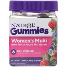 Витамины для Женщин Nature's Way Natrol Women Multi Gummies (90 Жевательных Конфет)