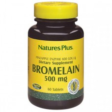 Бромелайн Natures Plus Bromelain 500 мг (60 таблеток)