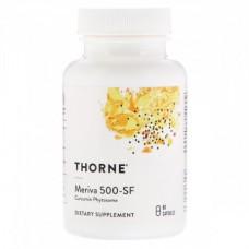 Фитосомы Куркумина Thorne Research Curcumin Phytosome Meriva (60 желевых капсул)
