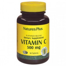 Витамины Natures Plus Vitamin С 500 мг (90 таблеток)