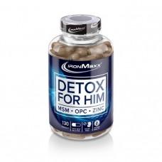 Препарат для очищения организма IronMaxx Detox For Him (130 капс)