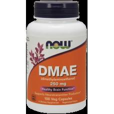 Активатор деятельности мозга NOW DMAE (250 мг)(100 капс)