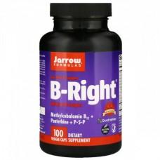 Витамины В-комплекс Jarrow Formulas B-Right (100 желевых капсул)