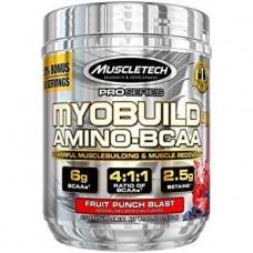 BCAA аминокислоты MuscleTech MyoBuild 4x Amino BCAA 36 порц. (324 г)