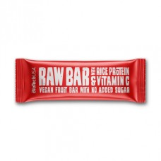 Батончики BioTech Raw bar with rice Protein and vitamin C (40 г)