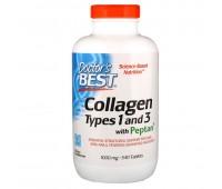 Препарат для восстановления суставов и связок Doctor's Best Collagen Type 1+3 (540 капс)
