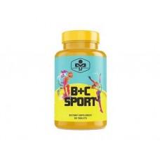 Витамины и минералы MUST B+C Sport (90 таб)