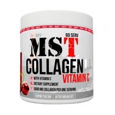 Препарат для восстановления суставов и связок MST Nutrition Collagen Vitamin C (390 г)