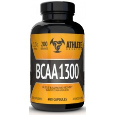 BCAA аминокислоты Athlete Genetics BCAA 1300 (200 капсул)