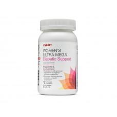Витамины для женщин GNC Women's Ultra Mega Diabetic Support (90 таб)