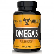 Рыбий жир Athlete Genetics Omega 3 (100 капсул)