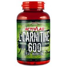 Жиросжигатель L-карнитин Activlab L-Carnitine 600 (60 капс)
