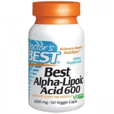 Альфа-липоевая кислота Doctor's Best Alpha Lipoic Acid (600 мг) (60 капс)