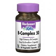 В Комплекс Bluebonnet Nutrition B-complex 50 (50 желевых капсул)