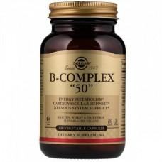 "Витамин B комплекс Solgar B-Complex ""50"" (100 желевых капсул)"