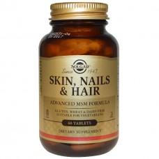 Витамины для кожи, ногтей и волос Solgar Skin, Nails & Hair (60 таб)