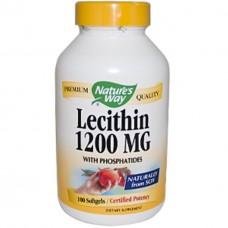 Лецитин Nature's Way Lecithin Natrol (120 желатиновых капсул)