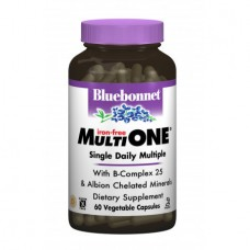 Витамины без железа Bluebonnet Nutrition MultiONE (60 желевых капсул)