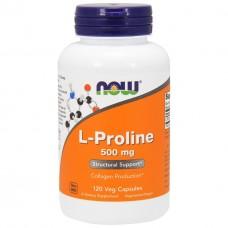 Активное долголетие NOW L-Proline 500 mg (120 капс)