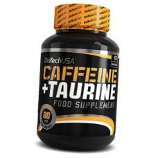 Аминокислоты BioTech Caffeine + Taurine (60 капс)