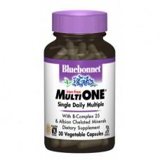 Витамины без железа Bluebonnet Nutrition MultiONE (30 желевых капсул)