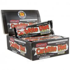 Батончик Universal Nutrition Doctor's CarbRite Diet Brownies (12 батончиков)