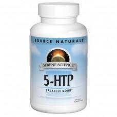 Антидепрессант Source Naturals Serene Science 5-HTP 50 мг (30 желатиновых капсул)