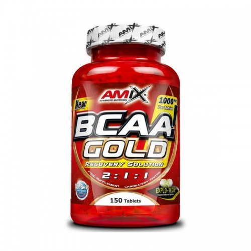 Купить BCAA аминокислоты AMIX BCAA Gold (150 таб) по доступной цене. Заказать онлайн или по телефону 093-5706558