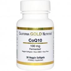Коэнзим California Gold Nutrition CoQ10 (100 мг) (30 капс)