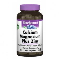 Витамины и минералы Bluebonnet Nutrition Calcium Magnesium+ Zinc (180 капсул)