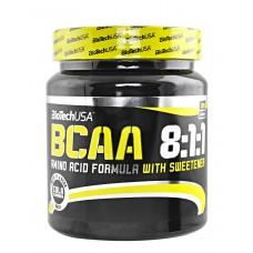 BCAA аминокислоты BioTech BCAA 8:1:1 (300 г) (Кола)
