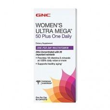 Витамины для женщин GNC Women's Ultra Mega 50 Plus One daily (60 таб)