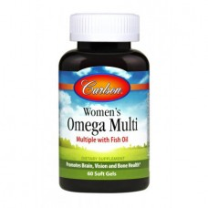Женские Витамины с Омега Carlson Women's Omega Multi (60 желатиновых капсул)