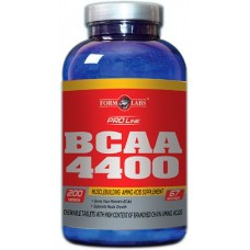 BCAA аминокислоты Form Labs BCAA 4400 (200 таб)