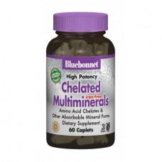 Взаимодействующие Минералы без Железа Bluebonnet Nutrition Albion (60 капсул)