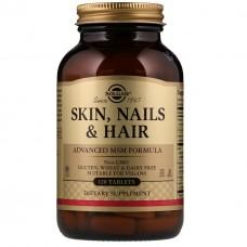 Витамины для кожи, ногтей и волос Solgar Skin, Nails & Hair (120 таб)