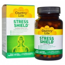 Антистрессовый Энергетический Комплекс Country Life Stress Shield (60 желевых капсул)