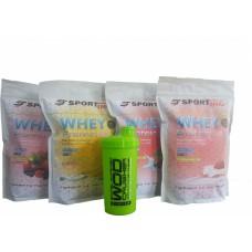 Протеин сывороточный 70% 4 кг + Шейкер в подарок
