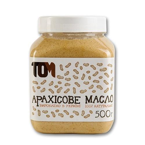 Арахисовое масло ТОМ 500 г