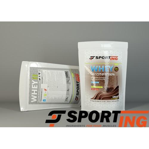 Протеин сывороточный , Sporting™ Whey Protein 80%  1 кг