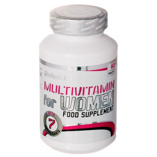 BioTech (USA) Multivitamin for Women (60 таб.)